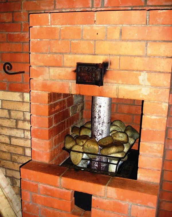 Печь для сауны из кирпича своими руками 25